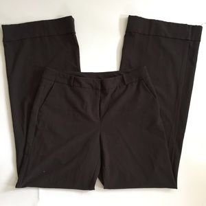 New York & Company Dark Brown Pants Size 8 Tall
